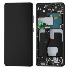 Samsung S21 Ultra Display(with Frame) - Black