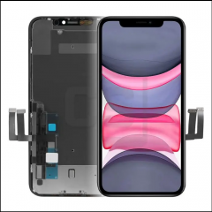 iPhone 11 Display (With Metal Plate)- RJ Incell