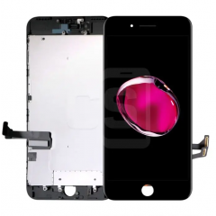 iPhone 7 Plus, Incell Display (With Metal Plate)- Black