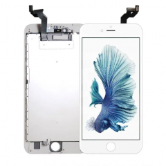 iPhone 6S Plus, Incell Display  (With Metal Plate)- White