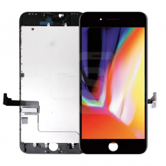 iPhone 8 Plus, Incell Display (With Metal Plate)- Black