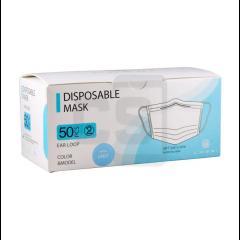 Blue Disposable Face Mask (50 pcs)