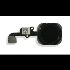 Iphone 6 & 6 Plus Home Button w/ Flex Cable Replacement Part (black)
