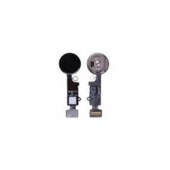 IPhone 7 / 7+ / 8 / 8+ YF Home Button w/ Flex Replacement Part (black)