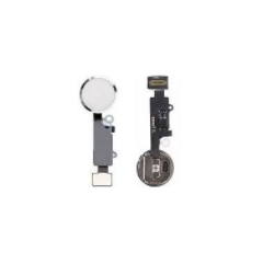 IPhone 7 / 7+ / 8 / 8+ YF Home Button w/ Flex Replacement Part (white)