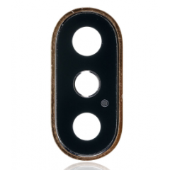 IPhone XS/XS Max Cover Lens for Rear Camera Replacement Part (Gold)