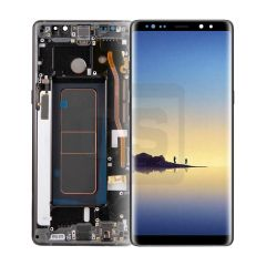 Samsung Note 8 Display (with Frame) - Black