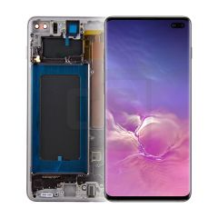 Samsung S10 Plus Display (with Frame) - Black