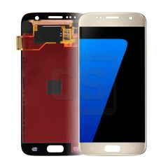 Samsung S7 Display - Gold