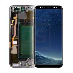 Samsung S8 Display (with Frame) - Black