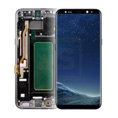 Samsung S8 Plus Display (with Frame) - Black
