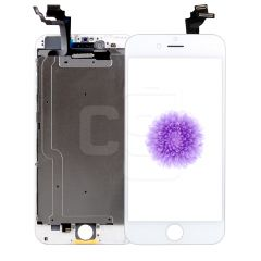 iPhone 6 Plus, Vivid Display (With Metal Plate) - White
