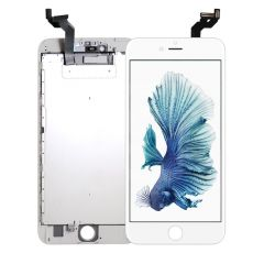 iPhone 6S Plus, Vivid Display (With Metal Plate) - White