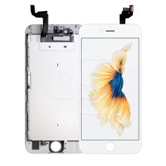 iPhone 6S, Vivid Display (With Metal Plate) - White