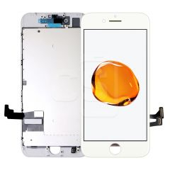 iPhone 7, Incell Display (With Metal Plate) - White