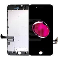 iPhone 7 Plus, Vivid Display (With Metal Plate)- Black