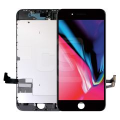 iPhone 8/SE 2020, Incell Display (With Metal Plate) - Black