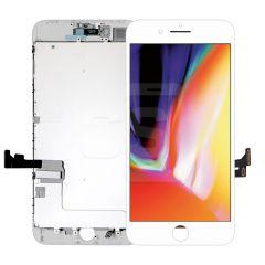 iPhone 8 Plus, Vivid Display (With Metal Plate)- White