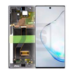 Samsung Note 10 Plus Display (with Frame) - Black