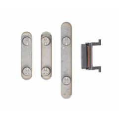 IPhone XS/XS Max Power Button, Volume Button, and Mute Switch (gray)