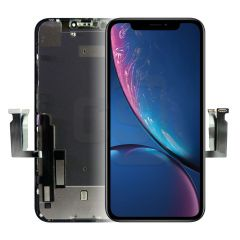 iPhone XR Display (With Metal Plate) - ZY Incell