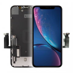 iPhone XR Display (With Metal Plate)- Matrix Incell